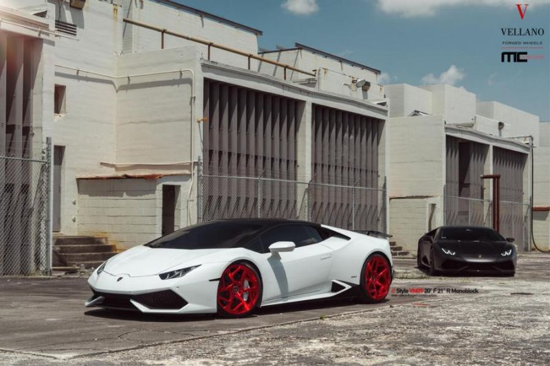 Vellano Forged Wheels VM39 Lamborghini Huracan Tuning 1