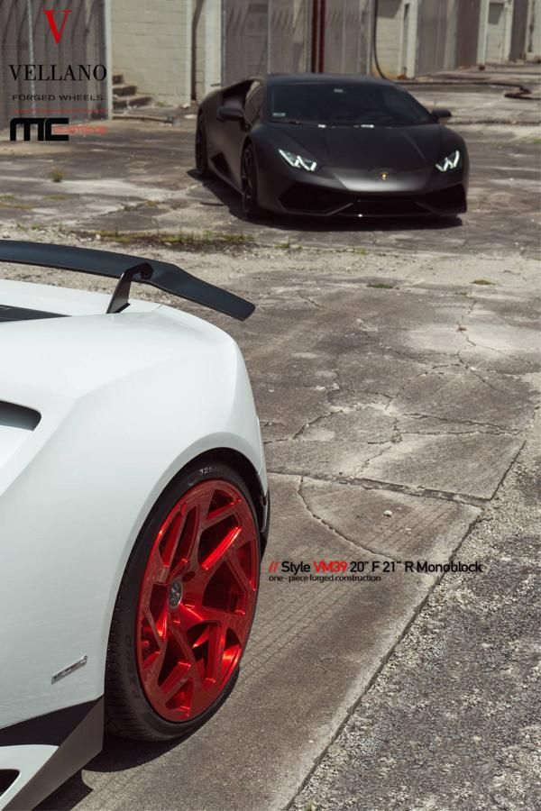 Vellano Forged Wheels VM39 Lamborghini Huracan Tuning 2 Vellano Forged Wheels VM39 am Lamborghini Huracan