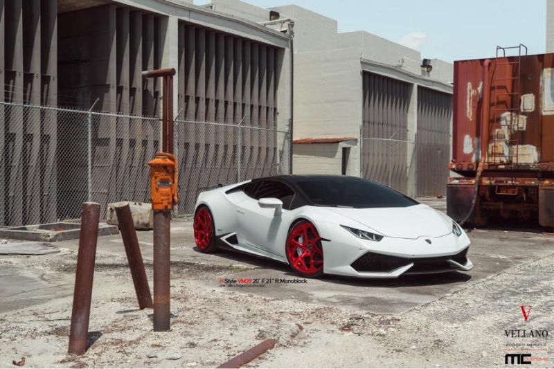 Vellano Forged Wheels VM39 Lamborghini Huracan Tuning 3 Vellano Forged Wheels VM39 am Lamborghini Huracan