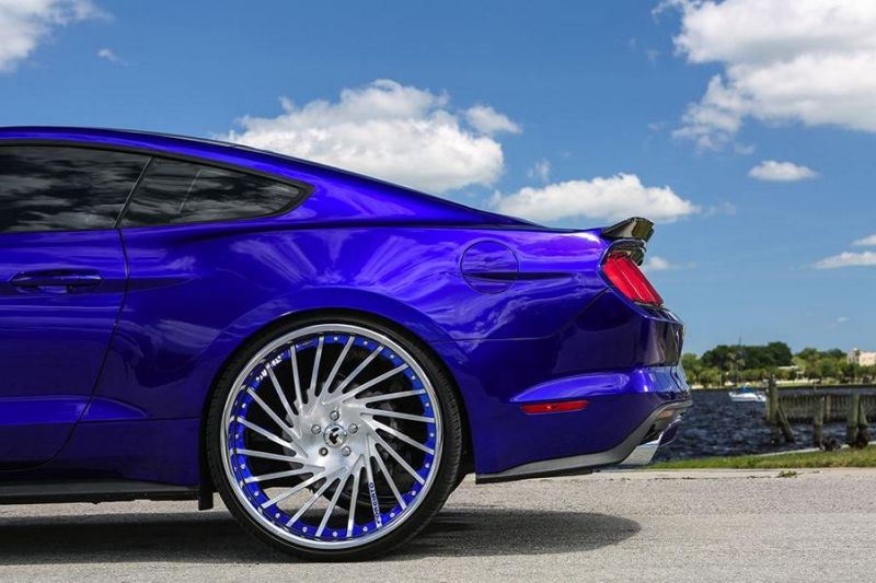 Ventoso Forgiato Wheels Alu's Ford Mustang GT Tuning 3 Ohne Worte   Riesige Forgiato Wheels Alu's am Ford Mustang GT