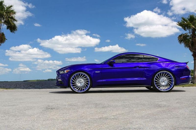 Ventoso Forgiato Wheels Alu's Ford Mustang GT Tuning 4 1 Ohne Worte   Riesige Forgiato Wheels Alu's am Ford Mustang GT