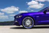 Ventoso Forgiato Wheels Alu's Ford Mustang GT Tuning 5 190x127 Ohne Worte   Riesige Forgiato Wheels Alu's am Ford Mustang GT