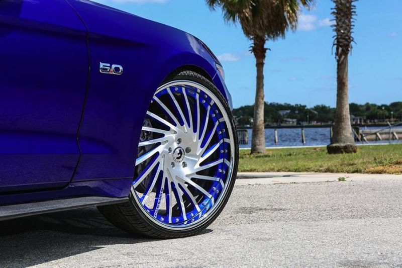 Ventoso Forgiato Wheels Alu's Ford Mustang GT Tuning 6