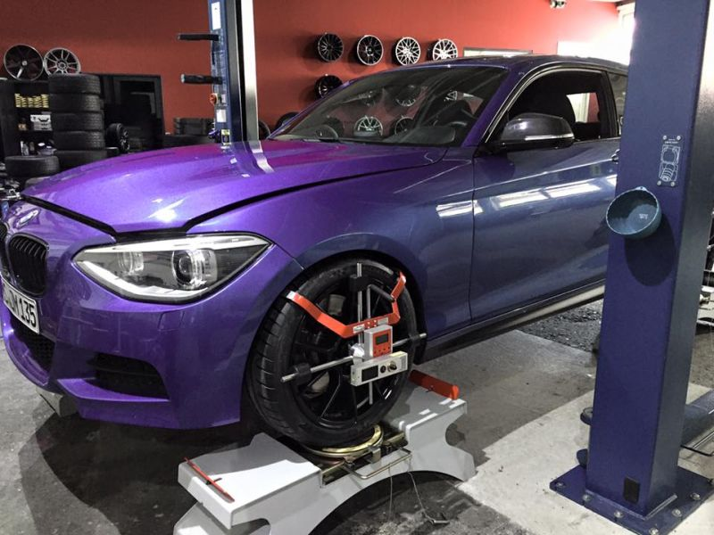 Versus Performance BMW M135i EVO IV Clubsport 404PS Tuning 6