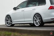 Vossen Wheels VFS 6 Alu's VW Golf MK7 Variant Tuning 12 190x127 Vossen Wheels VFS 6 Alu's am VW Golf MK7 Variant in Weiß