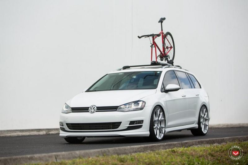 Vossen Wheels VFS-6 Alu's VW Golf MK7 Variant Tuning 14