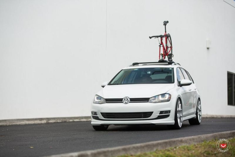 Vossen Wheels VFS-6 Alu's VW Golf MK7 Variant Tuning 15