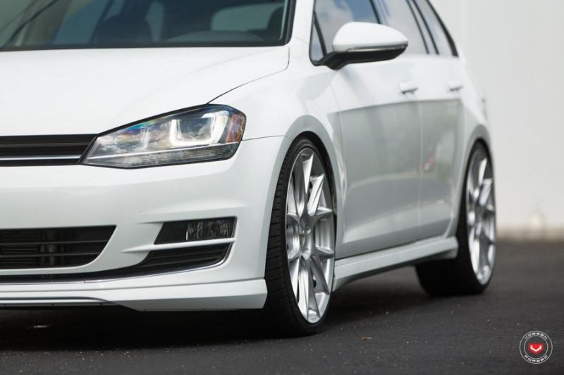 Vossen Wheels VFS-6 Alu's VW Golf MK7 Variant Tuning 17