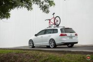 Vossen Wheels VFS 6 Alu's VW Golf MK7 Variant Tuning 2 190x127 Vossen Wheels VFS 6 Alu's am VW Golf MK7 Variant in Weiß