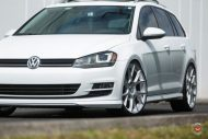 Vossen Wheels VFS 6 Alu's VW Golf MK7 Variant Tuning 21 190x127 Vossen Wheels VFS 6 Alu's am VW Golf MK7 Variant in Weiß