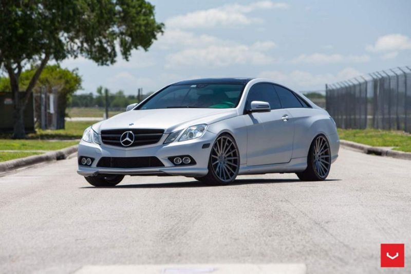 Vossen Wheels VFS2 Mercedes Benz W207 E Coupe Tunig 2 Vossen Wheels VFS2 am Mercedes Benz W207 E Coupe