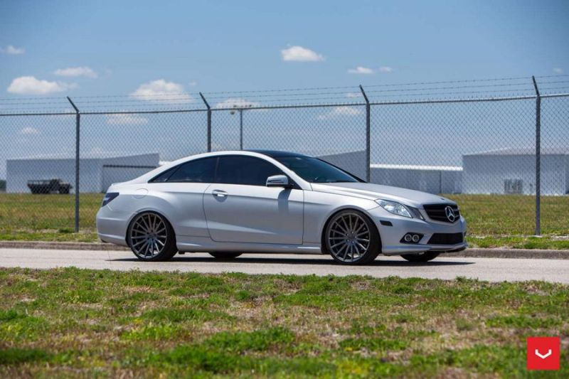 Vossen Wheels VFS2 Mercedes Benz W207 E Coupe Tunig 3 Vossen Wheels VFS2 am Mercedes Benz W207 E Coupe