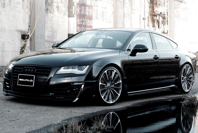 Wald Internationale Audi A7 Sportback tuningblog Wald Internationale Audi A7 Sportback auf Vossen VLE 1 Alu's by tuningblog