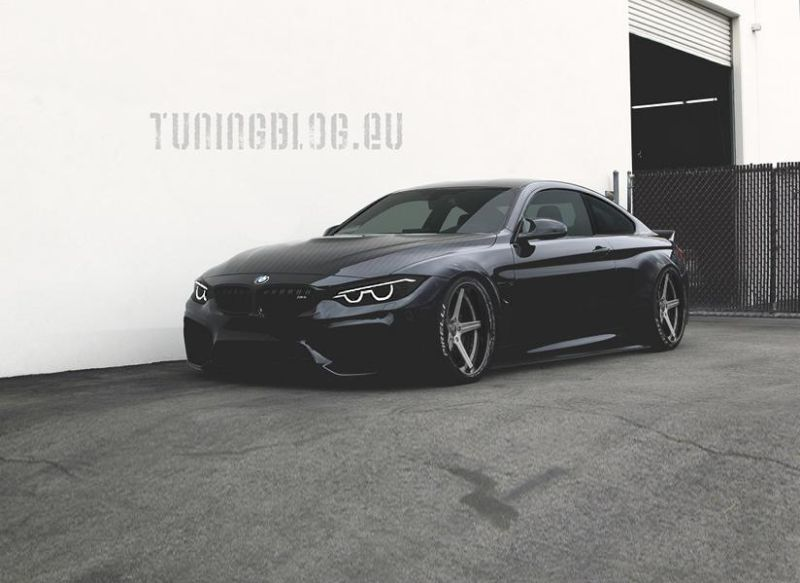 Widebody BMW M4 F82 black tuningblog.eu 1 Widebody BMW M4 F82 in Schwarz by tuningblog.eu