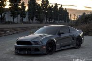 Widebody Ford Mustang GT Tuning APR Impressive Wrap ModBargains 13 190x127 Fotostory   Widebody Ford Mustang GT by ModBargains