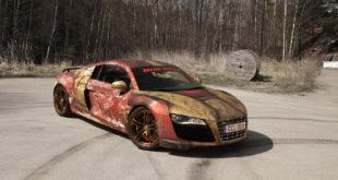 WrapZone Rat Look Audi R8 V10 Iron Man Rostfolierung by Skepple Tuning 3 e1462765793124 310x165 Rat Look   Audi R8 V10 mit Iron Man Rostfolierung by Skepple