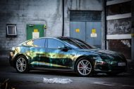 Zombie Folierung Tesla Model S by Scandinano Tuning 10 190x127 Fotostory: Zombie Folierung am Tesla Model S by Scandinano