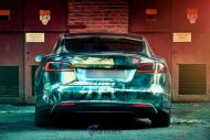 Zombie Folierung Tesla Model S by Scandinano Tuning 11 190x127 Fotostory: Zombie Folierung am Tesla Model S by Scandinano