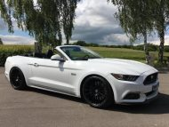20 Zoll HRE FF15 Ford Mustang Cabrio Tuning TVW Car Design 3 190x143 20 Zoll HRE FF15 Alu's am Ford Mustang von TVW Car Design