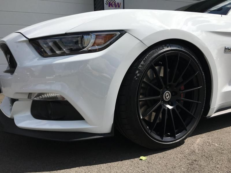20 Zoll HRE FF15 Ford Mustang Cabrio Tuning TVW Car Design 4 20 Zoll HRE FF15 Alu's am Ford Mustang von TVW Car Design
