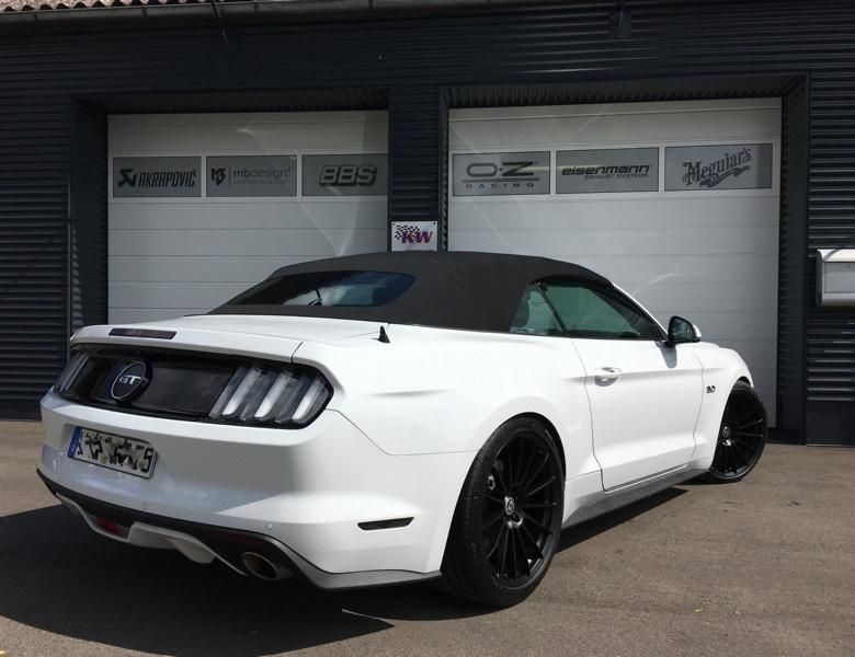 20 Zoll HRE FF15 Ford Mustang Cabrio Tuning TVW Car Design 5