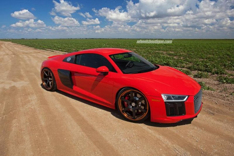 20 Zoll HRE RS106 Alufelgen Tuning Audi R8 V10 Coupe 1 20 Zoll HRE RS106 Alufelgen am neuen Audi R8 V10 Coupe