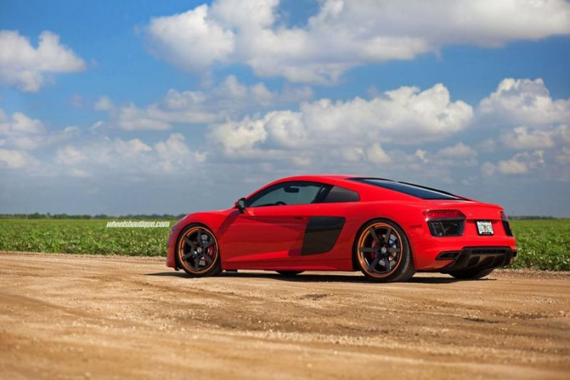 20 Zoll HRE RS106 Alufelgen Tuning Audi R8 V10 Coupe 10