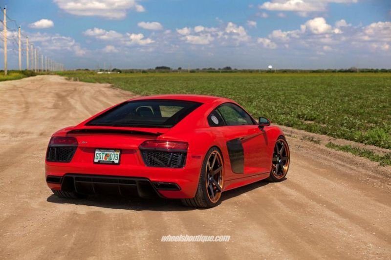 20 Zoll HRE RS106 Alufelgen Tuning Audi R8 V10 Coupe 11