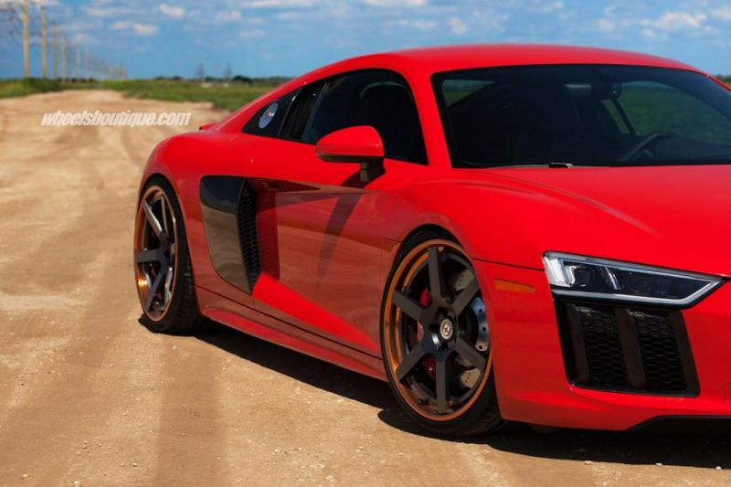 20 Zoll HRE RS106 Alufelgen Tuning Audi R8 V10 Coupe 12