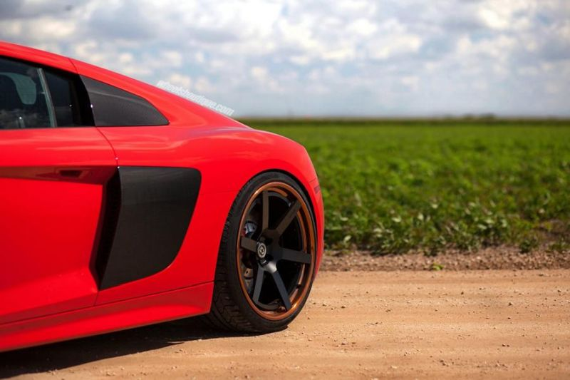 20 Zoll HRE RS106 Alufelgen Tuning Audi R8 V10 Coupe 14