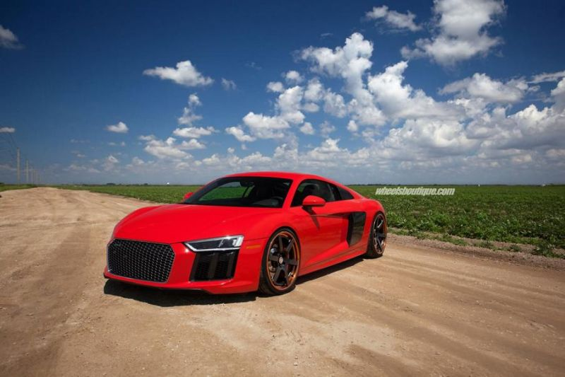 20 Zoll HRE RS106 Alufelgen Tuning Audi R8 V10 Coupe 4 20 Zoll HRE RS106 Alufelgen am neuen Audi R8 V10 Coupe