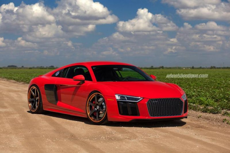 20 Zoll HRE RS106 Alufelgen Tuning Audi R8 V10 Coupe 5