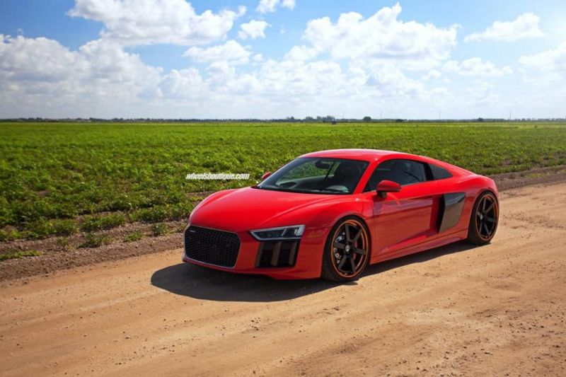 20 Zoll HRE RS106 Alufelgen Tuning Audi R8 V10 Coupe 6