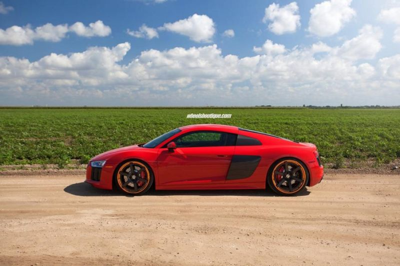 20 Zoll HRE RS106 Alufelgen Tuning Audi R8 V10 Coupe 7