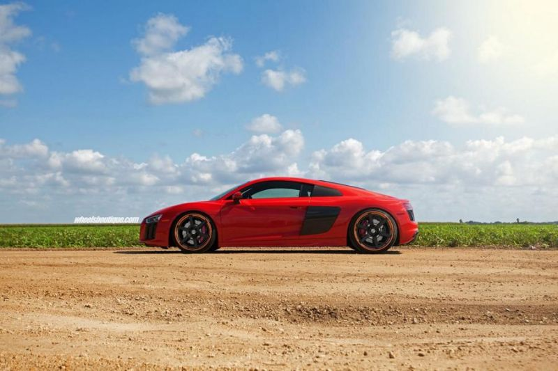 20 Zoll HRE RS106 Alufelgen Tuning Audi R8 V10 Coupe 8