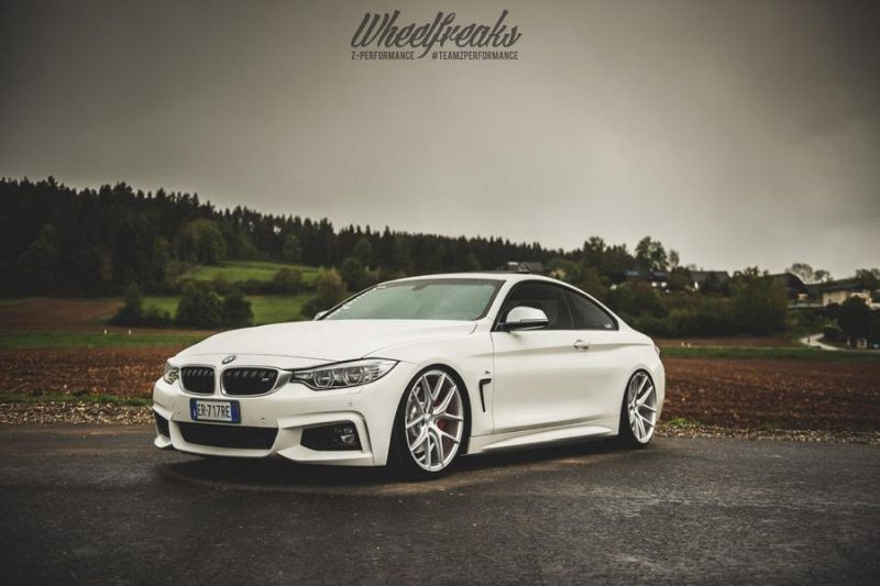 20 Zoll Z Performance Wheels ZP.NINE Tuning BMW F32 4er 1 20 Zoll Z Performance Wheels ZP.NINE am BMW F32 4er
