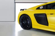 2016 Audi R8 V10 Plus Sunflower matt metallic Gelb fostla tuning wrap 5 190x126 2016er Audi R8 V10 Plus in Sunflower matt metallic Gelb