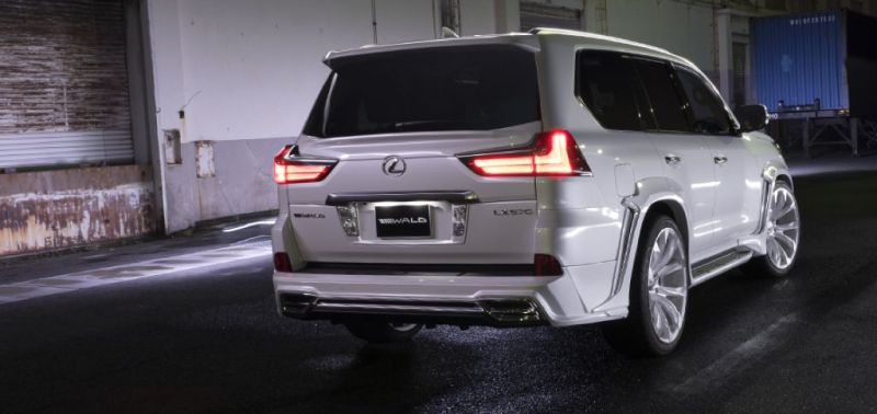 2016er Lexus LX570 sportline Bodykit Wald Internationale Tuning 1 2016er Lexus LX570 mit Bodykit von Wald Internationale