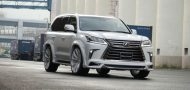 2016er Lexus LX570 sportline Bodykit Wald Internationale Tuning 11 190x90 2016er Lexus LX570 mit Bodykit von Wald Internationale