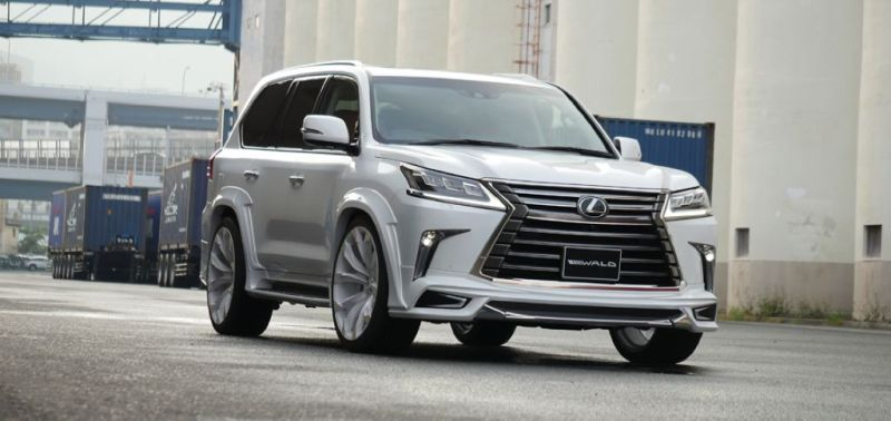 2016er Lexus LX570 sportline Bodykit Wald Internationale Tuning (11)