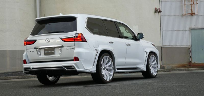 2016er Lexus LX570 sportline Bodykit Wald Internationale Tuning (12)