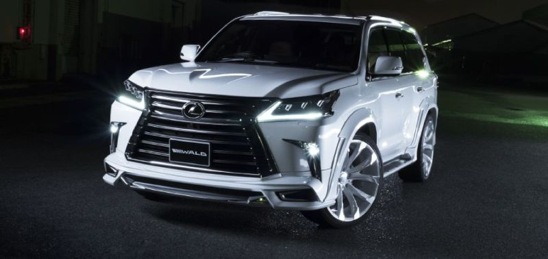2016er Lexus LX570 sportline Bodykit Wald Internationale Tuning (15)