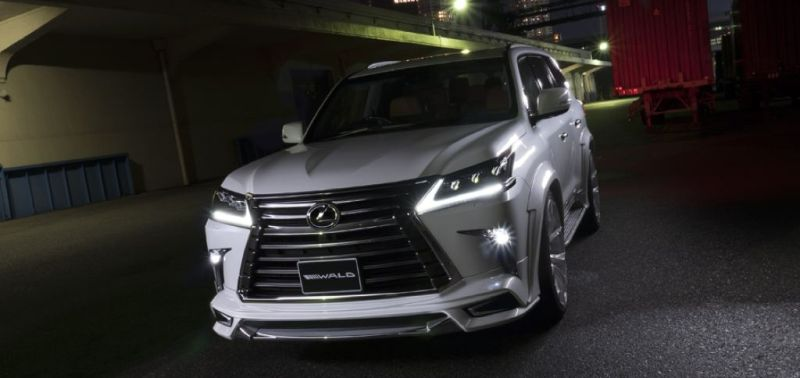 2016er Lexus LX570 sportline Bodykit Wald Internationale Tuning (4)