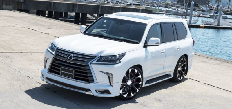 2016er Lexus LX570 sportline Bodykit Wald Internationale Tuning (5)
