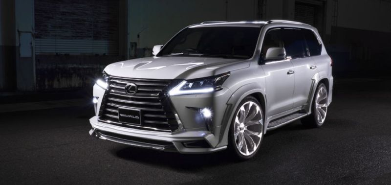 2016er Lexus LX570 sportline Bodykit Wald Internationale Tuning (6)