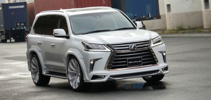 2016er Lexus LX570 sportline Bodykit Wald Internationale Tuning (7)