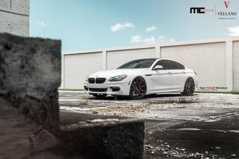 22 Zoll Vellano VM08 BMW 6er Grand Coupe MC Customs tuning 1 22 Zoll Vellano VM08 Alu's am BMW 6er Gran Coupe by MC