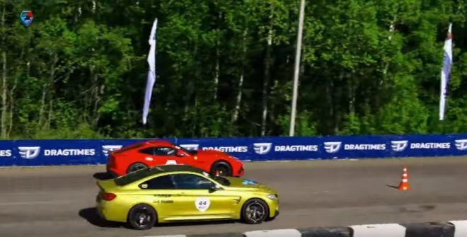 3 e1469382875605 Video: Dragerace   BMW M4 F82 mit 700PS vs. Ferrari F12