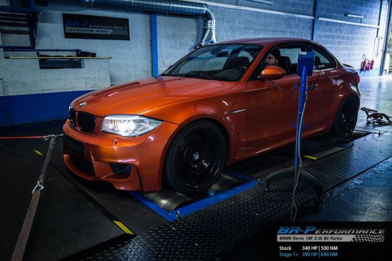 390PS & 649NM BR-Performance BMW 1M F82 Coupe Chiptuning 1
