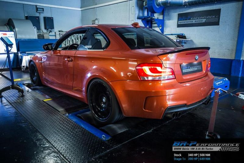 390PS & 649NM BR-Performance BMW 1M F82 Coupe Chiptuning 2